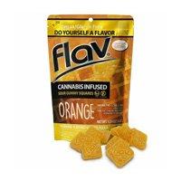 Orange Squares Gummies
